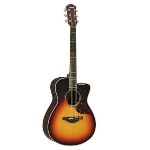 Yamaha AC3RVSHC Small Body Cutaway A/E Rosewood Vintage Sunburst Guitar w/ Case