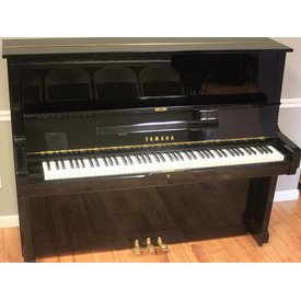 "Yamaha Yamaha U3 52"" Polished Ebony Studio Upright Piano"