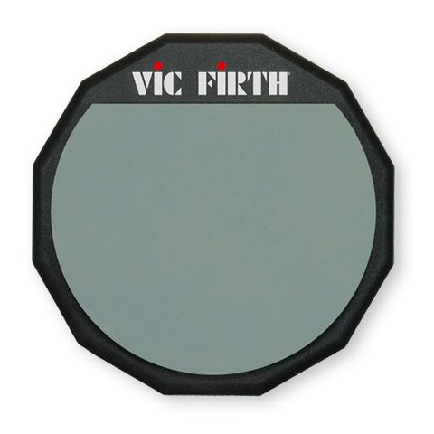 Vic Firth Single Sided Practice Pad 12""
