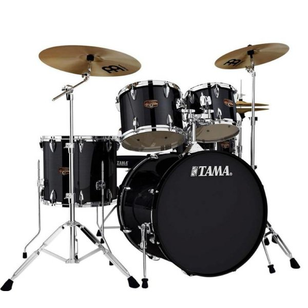 TAMA Tama IP52KCHBK Imperial Star with Cymbals Hairline Black
