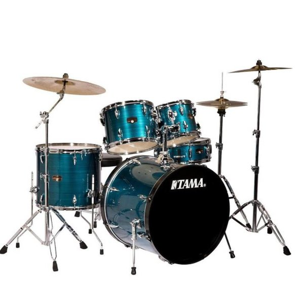 TAMA Tama IP58CHLB Imperialstar w/Cymbals Hairline Blue
