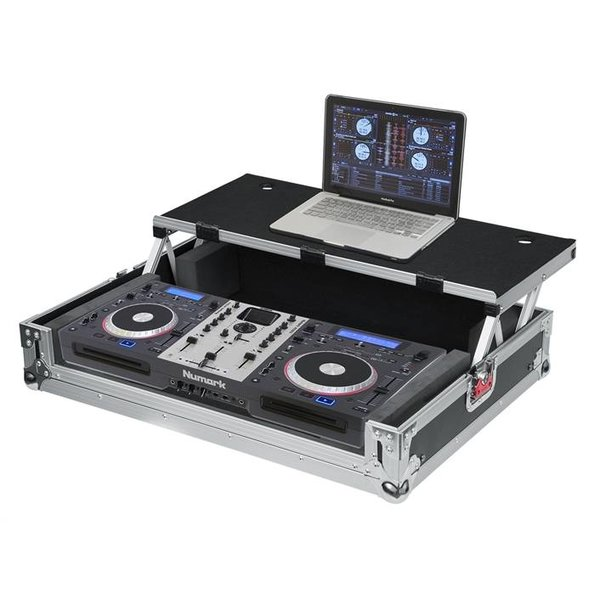 Gator Gator G-TOURDSPUNICNTLB G-TOUR DSP case for medium size DJ controller