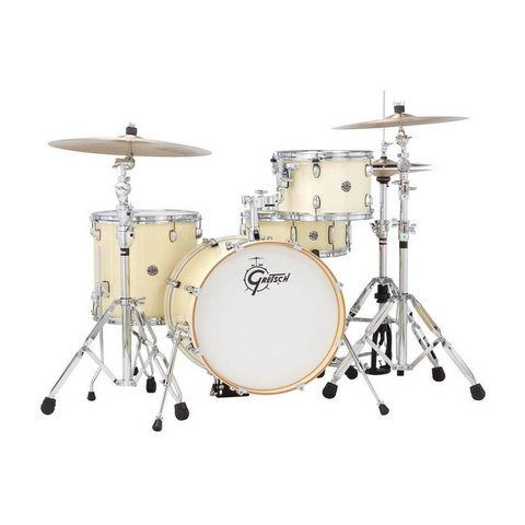 Gretsch Drums Catalina Club CT1-J484-WC 4-Piece Drum Shell Pack, White Chocolate