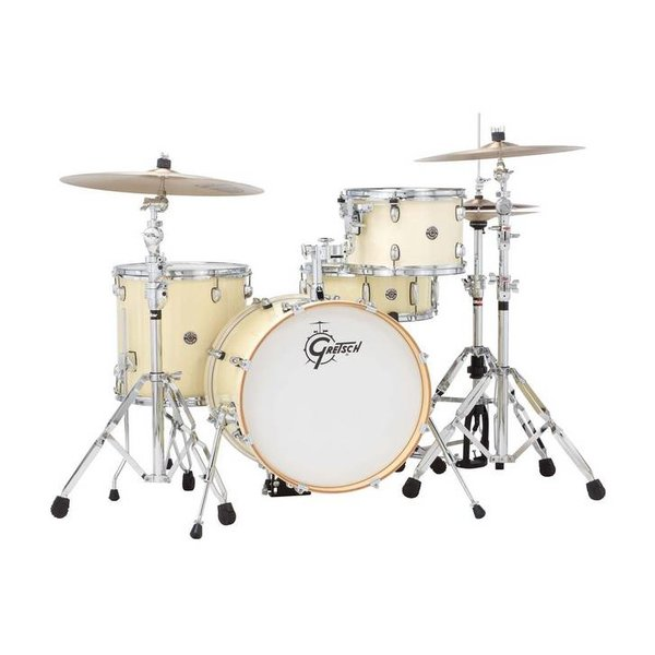 Gretsch Drums Gretsch Drums Catalina Club CT1-J484-WC 4-Piece Drum Shell Pack, White Chocolate
