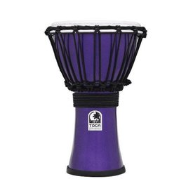 "Toca Toca TFCDJ-7MI Freestyle Colorsound 7"" Djembe Metallic Indigo"
