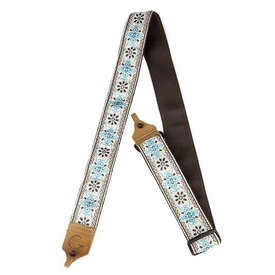 Gretsch Guitars Gretsch G Brand Banjo Strap Blue/Brown