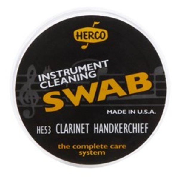 Dunlop Herco HE53 Clarinet Handkerchief Swab