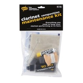 Dunlop Herco HE106 Composite Clarinet Maintenance Kit