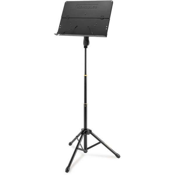 Hercules Hercules BS408B Orchestra Stand, Foldable Desk Ez Grip