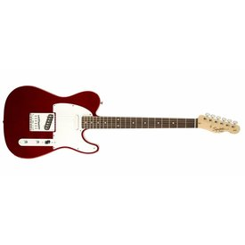 Squier Affinity Telecaster Metallic Red with Rosewood Fingerboard