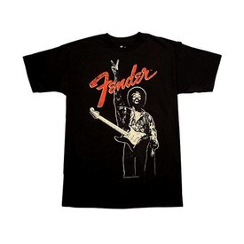 Fender Fender Jimi Hendrix Peace Sign T-Shirt Black L