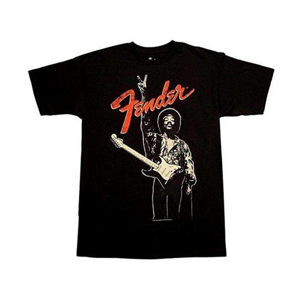 Fender Fender Jimi Hendrix Peace Sign T-Shirt Black L