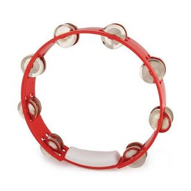 RhythmTech Rhythm Tech TC4030 True Color Tambourine, Red