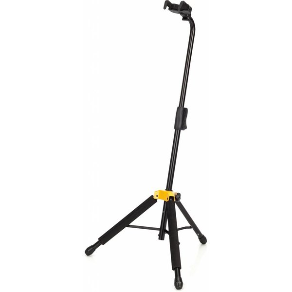 Hercules Hercules GS414B Auto Grip Guitar Stand w/ Specially formulated Foam