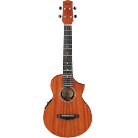 Ibanez Ibanez UEWT5E EW All Mahogany Acoustic Electric Tenor Ukulele Natural