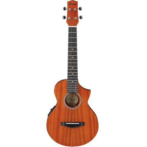 Ibanez UEWT5E EW All Mahogany Acoustic Electric Tenor Ukulele Natural