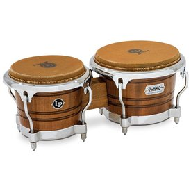 LP LP Richie Gajate-Garcia Signature Series Bongos Mavi Satin Finish
