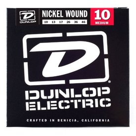 Dunlop Dunlop DEN1046 Electric Guitar Strings, Medium, 10-46