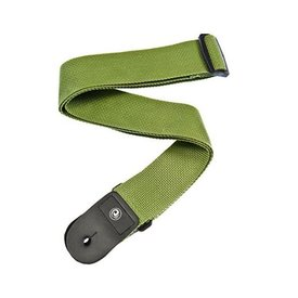 Planet Waves Planet Waves PWS107 Polypropylene Guitar Strap, 50mm, Green