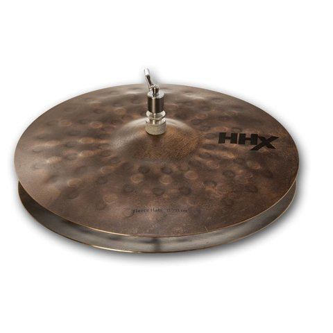 "Sabian 11302XNJM 13"" HHX Fierce Hi-Hats"