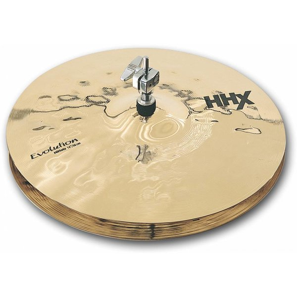 "Sabian Sabian 11402XEB 14"" HHX Evolution Hi-Hats Brilliant Finish"