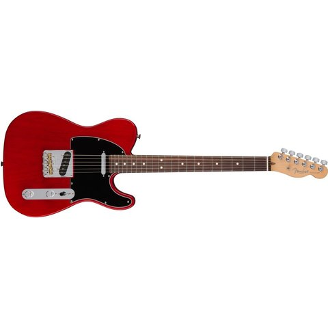 American Pro Telecaster, Rosewood Fingerboard, Crimson Red Transparent
