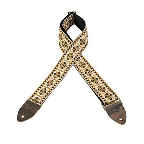 "Levy's Leathers Levy's M8HTV-07 2"" Jacquard Weave Vintage Hootenanny Guitar Strap"