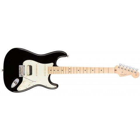 American Pro Stratocaster HSS Shawbucker, Maple Fingerboard, Black