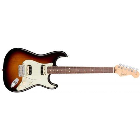 American Pro Stratocaster HH Shawbucker, Rosewood Fingerboard, 3-Color Sunburst