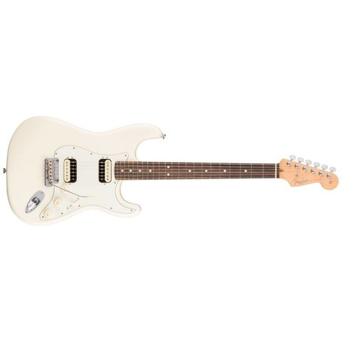 American Pro Stratocaster HH Shawbucker, Rosewood Fingerboard, Olympic White