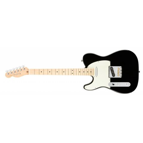American Pro Telecaster Left-Hand, Maple Fingerboard, Black