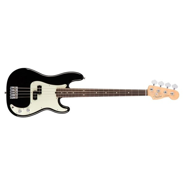 Fender American Pro Precision Bass, Rosewood Fingerboard, Black