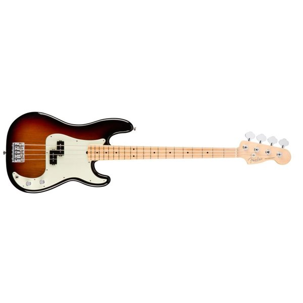 Fender American Pro Precision Bass, Maple Fingerboard, 3-Color Sunburst