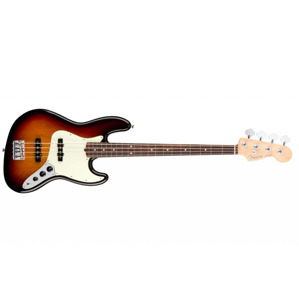 Fender American Pro Jazz Bass, Rosewood Fingerboard, 3-Color Sunburst