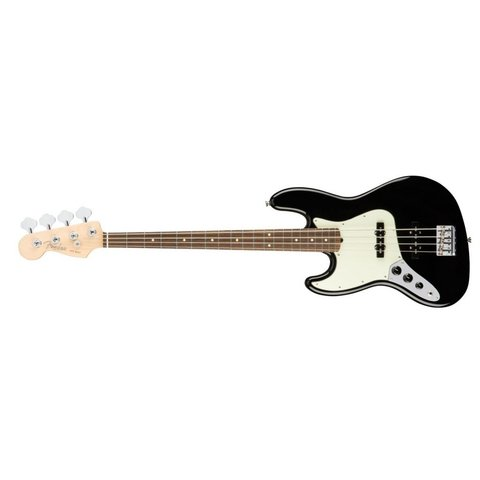 American Pro Jazz Bass Left-Hand, Rosewood Fingerboard, Black