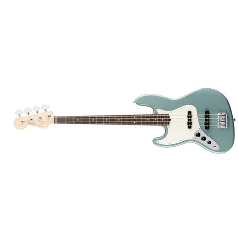 American Pro Jazz Bass Left-Hand, Rosewood Fingerboard, Sonic Gray