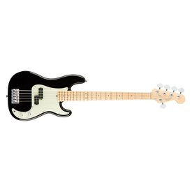 Fender American Pro Precision Bass V, Maple Fingerboard, Black