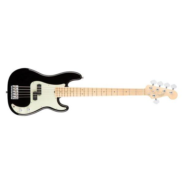 Fender American Pro Precision Bass V, Maple Fingerboard, Black