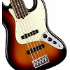 American Pro Jazz Bass V, Rosewood Fingerboard, 3-Color Sunburst