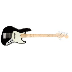 Fender American Pro Jazz Bass V, Maple Fingerboard, Black