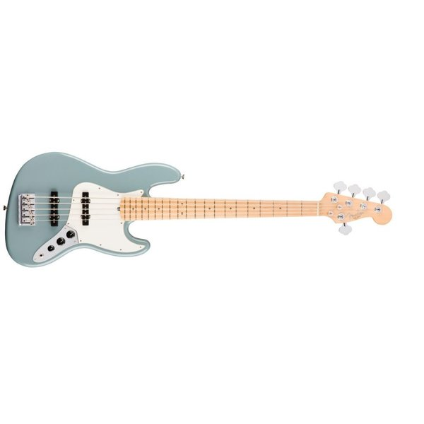 Fender American Pro Jazz Bass V, Maple Fingerboard, Sonic Gray