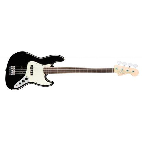 American Pro Jazz Bass Fretless, Rosewood Fingerboard, Black