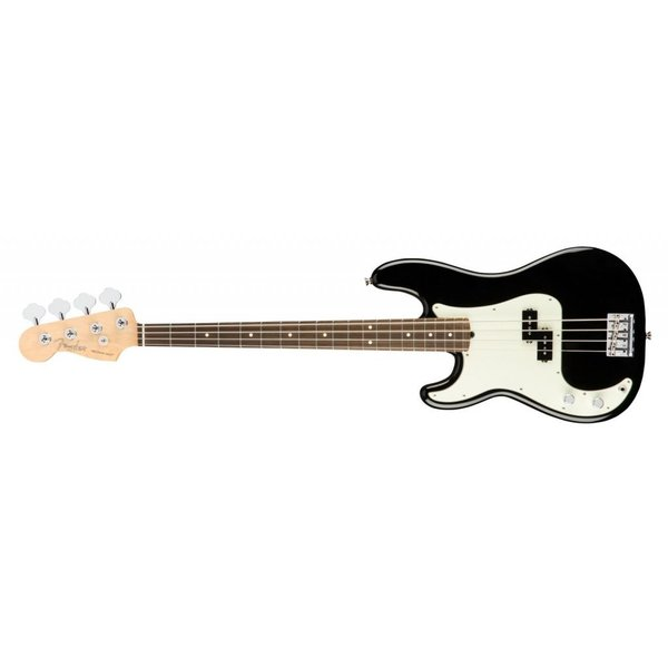 Fender American Pro Precision Bass Left-Hand, Rosewood Fingerboard, Black