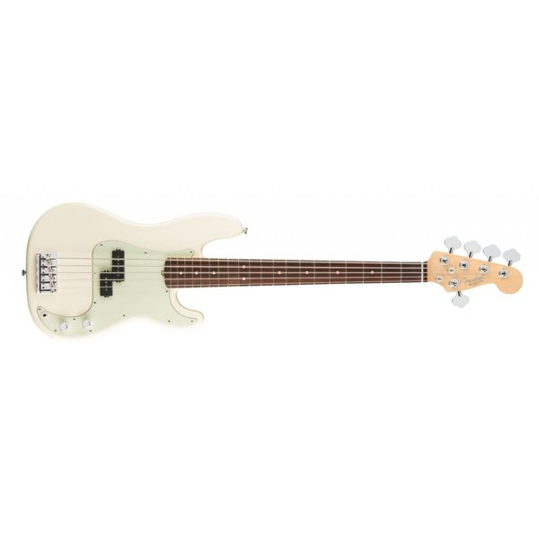 Fender American Pro Precision Bass V, Rosewood Fingerboard, Olympic White