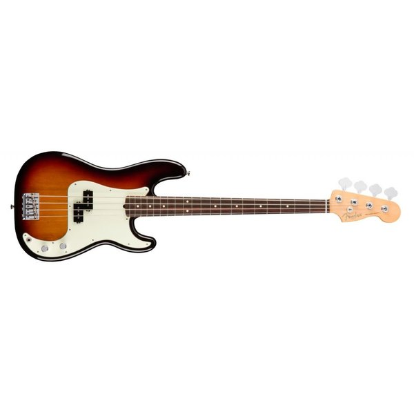 Fender American Pro Precision Bass, Rosewood Fingerboard, 3-Color Sunburst