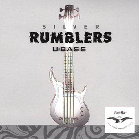 Kala AQ-UBASS-RMBL Aquila Silver Rumblers Ubass Strings