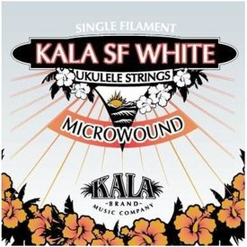 Kala Kala PEARLS-TLG Pearl Microwound Tenor Ukulele Strings, Wound Low G