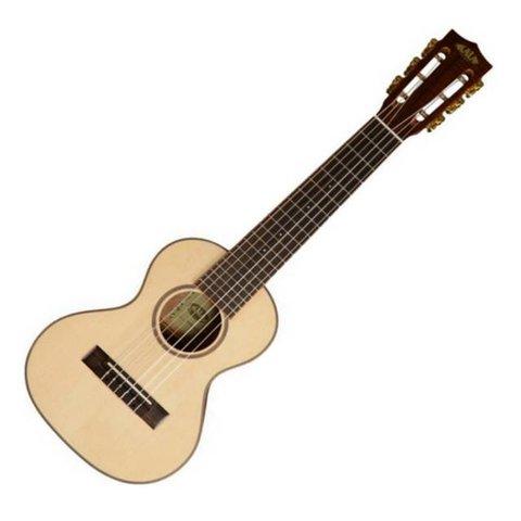 Kala KA-GL-KOA-E Guitarlele 6-String Ukulele w/EQ, Satin/Solid Spruce/Koa