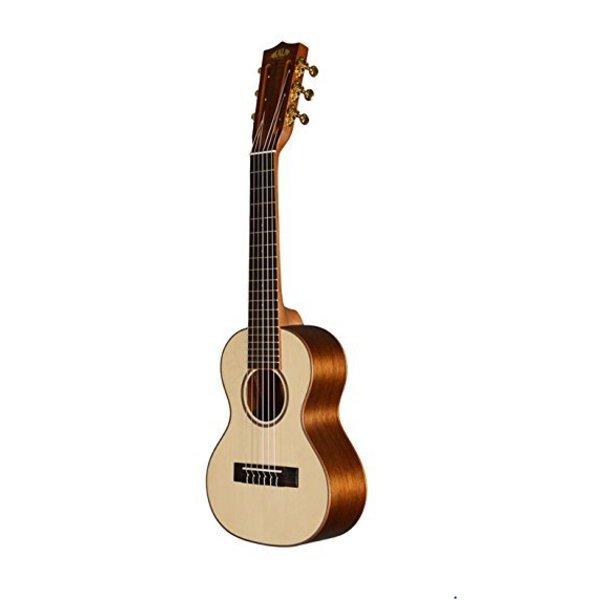 Kala Kala Specialty KA-GL-KOA Guitarlele 6-String Ukulele, Satin/Solid Spruce/Koa