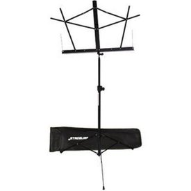 Stageline Stageline MS2BKB Music Stand Black with Bag